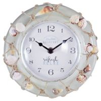 FirsTime® Ocean Float 8-Inch Wall Clock