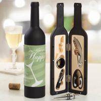 Uncork Some Happy Personalized Wine Accessory 5pc Kit
