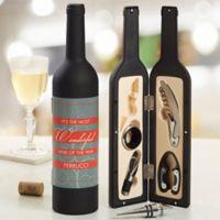 Wonderful Wine Personalized Wine Accessory 5pc Kit