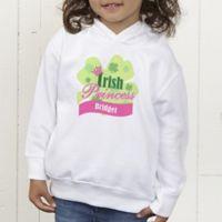Little Irish Princess Personalized Toddler Hooded Sweatshirt