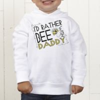 I'd Rather Bee With... Personalized Toddler Hooded Sweatshirt