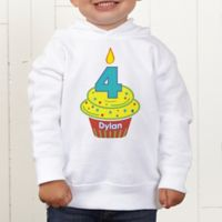 My Little Cupcake Personalized Toddler Hooded Sweatshirt