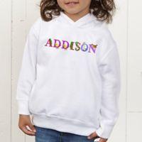 Alphabet Animals Personalized Toddler Hooded Sweatshirt