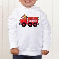 Jr. Firefighter Personalized Toddler Hooded Sweatshirt