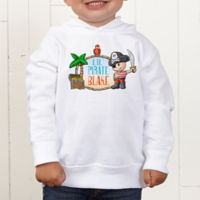 Lil' Pirate Personalized Toddler Hooded Sweatshirt