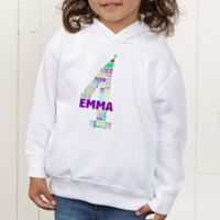 It's My Birthday Personalized Toddler Hooded Sweatshirt