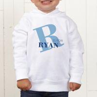 Alphabet Fun Personalized Toddler Hooded Sweatshirt