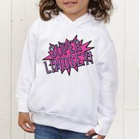 Super Hero Personalized Toddler Hooded Sweatshirt