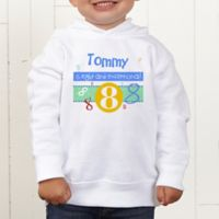 What's Your Number? Personalized Toddler Hooded Sweatshirt
