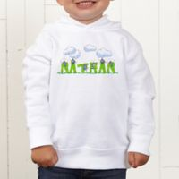 B is for Bug Personalized Toddler Hooded Sweatshirt