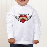 Heartbreaker Personalized Toddler Hooded Sweatshirt
