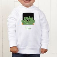Freaky Frankie Personalized Toddler Hooded Sweatshirt