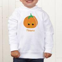 Pumpkin Pal Personalized Toddler Hooded Sweatshirt