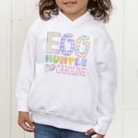 Egg Hunter Personalized Toddler Hooded Sweatshirt