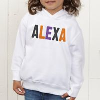 All Mine! Halloween Personalized Toddler Hooded Sweatshirt