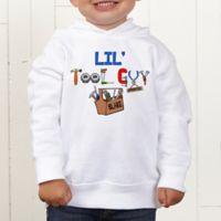 Lil Tool Guy Personalized Toddler Sweatshirt
