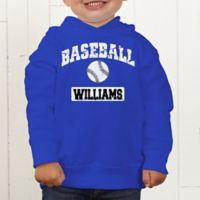 14 Sports Personalized Toddler Hooded Sweatshirt