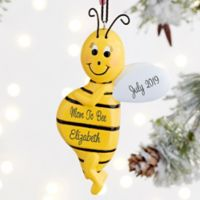 Expecting Mom to Bee Personalized Ornament