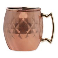 Diamond Moscow Mule Cups (Set of 2)