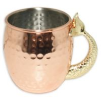 Mermaid Tail Moscow Mule Mug in Copper