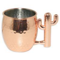 Cactus Moscow Mule Mug in Copper