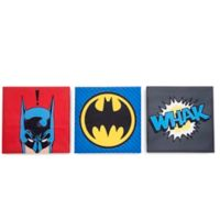 Dc® 14-Inch Square Wood Wall Art in Black