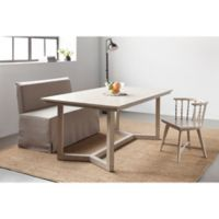Bee & Willow™ Home Slipcovered Dining Bench in Natural