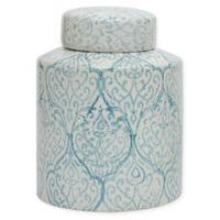 Ceramic Ginger Jar in Blue/White