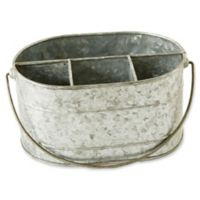4-Compartment Metal Caddy