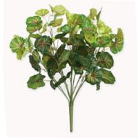 Northlight 18.5-Inch Artificial Two Tone Green Begonia Spring Floral Bush
