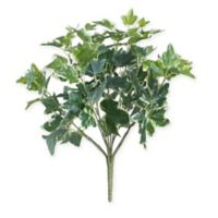 Northlight 19-Inch Artificial Two Tone Green and White Sweet Potato Floral Bush