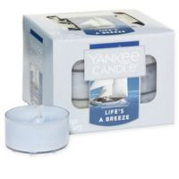 Yankee Candle® 12-Pack Life's a Breeze Tea Light Candles