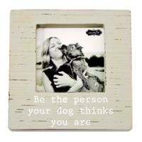 Mudpie© Be the Person Wood Block 5-Inch x 5-Inch Photo Frame