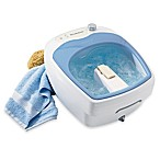Brookstone® Aqua-Jet Heated Foot Spa®
