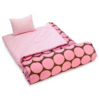 Wildkin Pink Big Dots Sleeping Bag