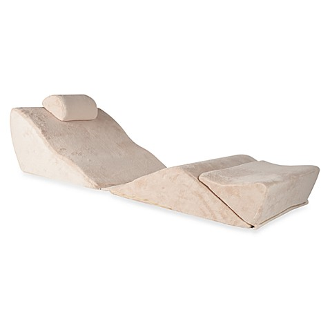 bed bath wedge pillow