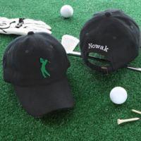 Sports Fan Personalized Black Cap
