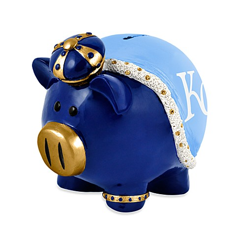 Buy kansas city royals resin piggy bank from bed bath beyond - Resin piggy banks ...