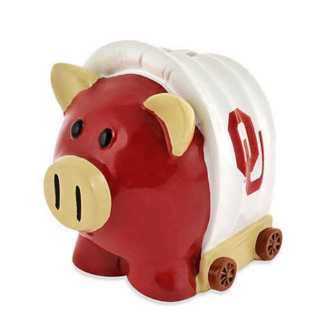 University of oklahoma resin piggy bank bed bath beyond - Resin piggy banks ...