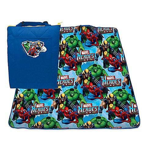 Marvel Heroes Zip Up Activity Mat Bed Bath Amp Beyond