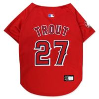 MLB Los Angeles Angels Mike Trout Medium Pet Jersey
