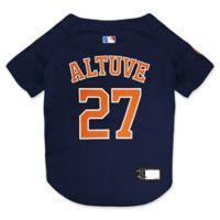 MLB Houston Astros Jose Altuve Extra Large Pet Jersey