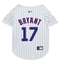 MLB Chicago Cubs Kris Bryant Medium Pet Jersey