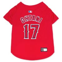 MLB Los Angeles Angels Shoei Otani Medium Pet Jersey