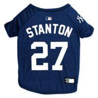 MLB New York Yankees Giancarlo Stanton Extra Small Pet T-Shirt