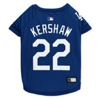 MLB Los Angeles Dodgers Clayton Kershaw Large Pet T-Shirt
