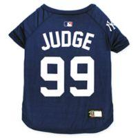 MLB New York Yankees Aaron Judge Large Pet T-Shirt