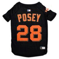 MLB San Francisco Giants Buster Posey Medium Pet T-Shirt