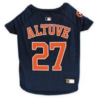 MLB Houston Astros Jose Altuve Large Pet T-Shirt