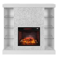 Southern Enterprises Colworth Curio Infrared Fireplace